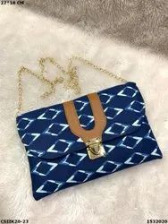 Ikkat Designer Clutch Bag