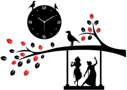 radhe krishna Wall Clock