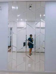 Polished Glass Mirror
