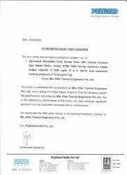 Polybond, Pune for 3 TPH Steam Boiler