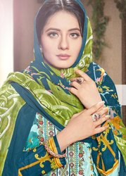 Gull Banu Pure Lawn Collection With Mal Mal Dupatta Suits Catalog