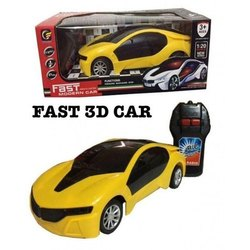 Fast 3D Remote Control Car Toy