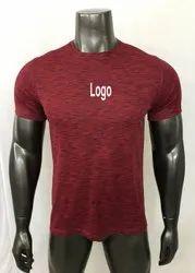 Mens Sports T Shirt  Men Plain T Shirt, Men Polyester T Shirt