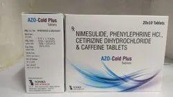 NIMESULIDE PHENYLPHERINE CETRAZINE & CAFFINE TAB
