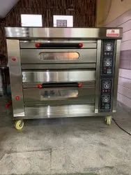 Double Deck Gas Baking Oven