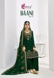 Kesari Trendz Baani Vol-1 Heavy Embroidery Work Salwar Suits Catalog
