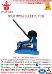 Gold Tool Sheet Cutter Machine