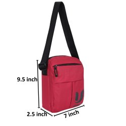 ULTRALITE RED Sling Bag, 150 Grams, Size: 7.5 X 2.5 X 9.5 Inch
