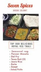 Indian Home Services Royal Veg Thali, in Bhopal