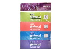 Royal Natural Facial  Tissue 4in1-100 Pulls