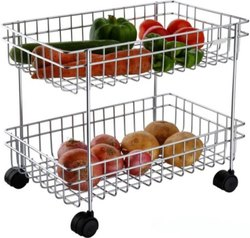 Kitchen SS VEG Trolley