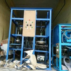 Polished Automatic Thali Making Machine
