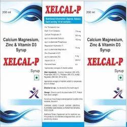 Calcium Magnesium, Zinc And Vitamin D3 Syrup