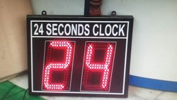 Asko Black ASSB-015 Digital Shot Clock, Size/Dimension: Ft 6 X 3 X 3ft