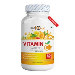 Health Oxide Vitamin C With Zinc 60 Tablets