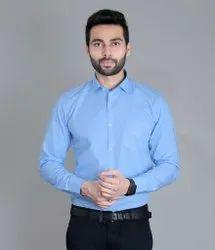 Full Sleeve Men Identity Linen Formal Shirt, Above 15 Years