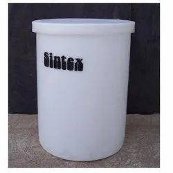 Chemical Mixing Tank 100 Lit Cylindrical Vertical Container ( Cv)