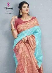 Shangrila Creation Varnika Weaving Silk Saree Catalog