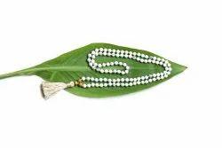 Gemstone Yoga Mala With Wooden Beads