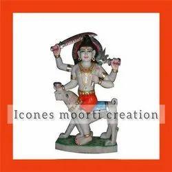 Marble Bhairav Baba Status