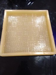Chequered Tile Rubber Mould