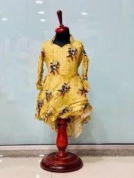 Girl Rayon baby dress