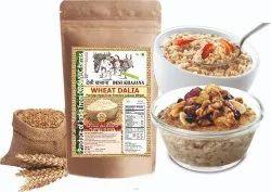 Desi Khajana Premium Whole Lokwan Wheat Dalia (Daliya) - Produce Of India From Organic Farms