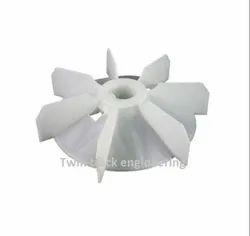 Plastic Motor Cooling Fan, For Industrial