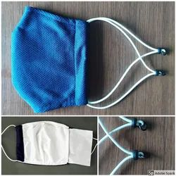 Accusafe Cotton Dust Protection Mask, For Traffic Police