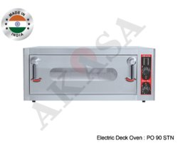 Akas Indian Electric Commercial Stone Deck Oven