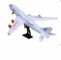 Plastic 70153 Friction Powered Aeroplane Toy