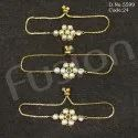 Designer Adjustable Kundan Bracelet