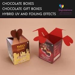 Printed Paper Chocolate Boxes