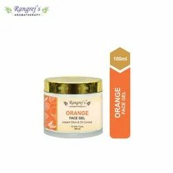 Rangrej''s Aromatherapy Orange Face Gel For Skin Lighten/Brighten/Glowing/Moisturizing Skin