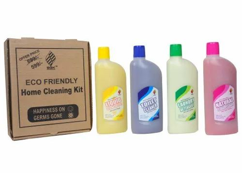 Eco Friendly Home Liquid Cleaning Kit, Size: 500 Ml