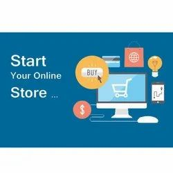 Cloud Responsive Web Store Development Services, With Online Support