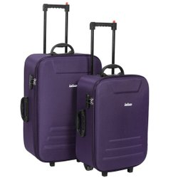 Polycarbonate Purple Luggage Travel Bag, Size/Dimension: 24