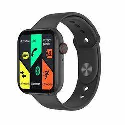 Black Plastic Digital Bluetooth Smart Wrist Watch, 35.23 Gm