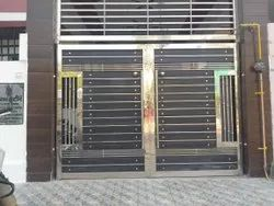 SS304 Stainless Steel Hinged Door, For Home