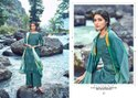 Kaara Suits Cindrella Pashmina Print With Four Side Lace Dress Material Catalog