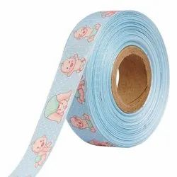 Baby Shower Baby Images 25mm/1'' Inch Gross Grain Ribbon