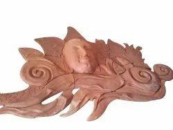 Brown Terracotta Articles, Size/Dimension: Per Sq Feet