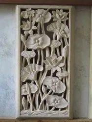 Flower Mural Stone