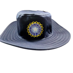 Greatshot Cricket Hat Panama Hat Navy Blue