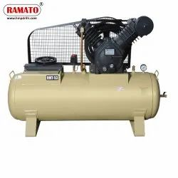 RMT-53A 7.5 HP 2 Piston 2 Stage Air Compressor With 300 LTR Tank