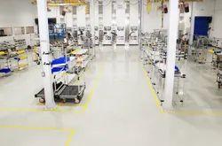 Industrial Flooring Service, For Indoor, Waterproof