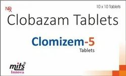 Clobazam Tablets 5mg