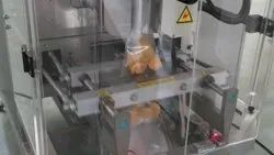 Chips Packing Machine with Tray Bucket Conveyor