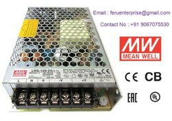 Meanwell 24VDC 6.5A Power Supply