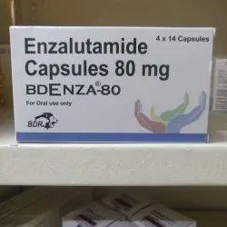 Enzalutamide Bdenza 80 mg Capsules